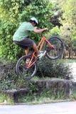 Trial bike Stock Photos