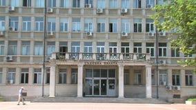 The Trial Chamber Varna region, Bulgaria stock video footage