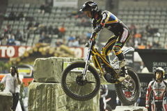 Trial and Enduro indoor World Championship in Barc Royalty Free Stock Image