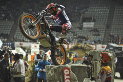 Trial and Enduro indoor World Championship in Barc Royalty Free Stock Photography
