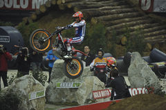 Trial and Enduro indoor World Championship in Barc Royalty Free Stock Photo