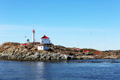 Trial Islands Lighthouse Royalty Free Stock Photo