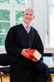 Trial Lawyer in his law firm stock photo