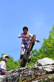 Trial Spain Championship. Stock Image