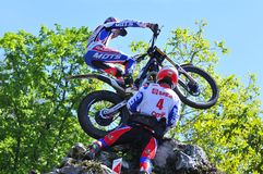Trial Spain Championship. Stock Photo