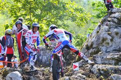 Trial Spain Championship. Royalty Free Stock Photos