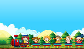 Trian ride Royalty Free Stock Photography