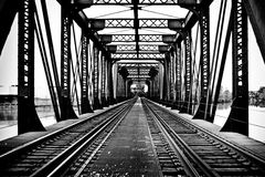 Trian Tracks Royalty Free Stock Images