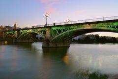 Triana's most w Seville Obraz Royalty Free