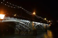 Triana's most w Seville Zdjęcia Royalty Free