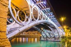 Triana桥梁细节 库存图片