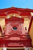 Triana barrio i den Seville Santa Ana kyrkan Spanien Royaltyfria Bilder