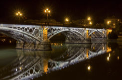 Triana Bridge Royalty Free Stock Images
