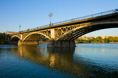 Triana Bridge, Seville, Spain Stock Photos