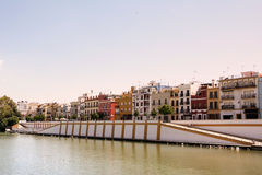 Triana district in Sevilla Royalty Free Stock Photography