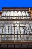 Triana dzielnica Seville fasady Andalusia Hiszpania Obrazy Royalty Free