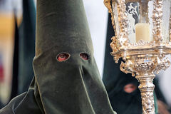 Triana nazarene, Holy Week in Seville, Andalusia, Spain Stock Images