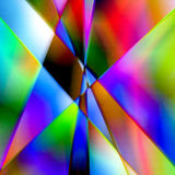 Triangel colorful Stock Photo