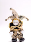 Triangel Doll. Eros a lovely doll in a white background Royalty Free Stock Photography