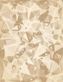 Triangelabstrakt begrepp Royaltyfri Bild