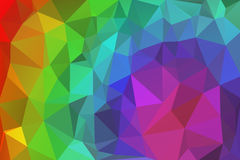 Triangelabstrakt begrepp 1 Arkivbild
