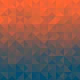 Triangelbakgrund Arkivbilder