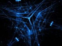 Triangelbakgrund - frambragd bild för abstrakt begrepp digitalt Royaltyfria Foton