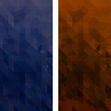 Triangelgrunge Arkivfoto