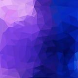 Triangelmodell av geometriska former färgrikt Arkivfoto