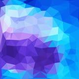 Triangelmodell av geometriska former färgrikt Royaltyfri Bild