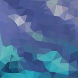 Triangelmodell av geometriska former färgrikt Royaltyfria Bilder