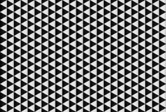 Triangelmodell, sömlös vektorbackg för svartvit lutning Royaltyfria Bilder