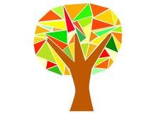 Triangelträd Fotografering för Bildbyråer