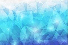 Trianggle abstrack background-09 Royaltyfria Bilder