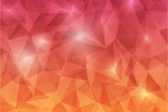 Trianggle abstrack background-09. Trianggle abstrack background shine red orange Royalty Free Stock Photography