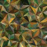 Triangle Abstract Background. Colorful Triangle Abstract Background. Vector Pattern of Colored Geometric Shapes Royalty Free Stock Image