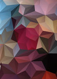 Triangle Abstract Background. Colorful Triangle Abstract Background. Vector Pattern of Colored Geometric Shapes Royalty Free Stock Photo