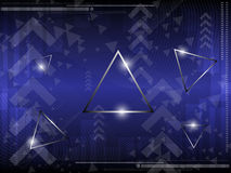 Triangle abstract background. EPS 10 Vector Royalty Free Stock Images
