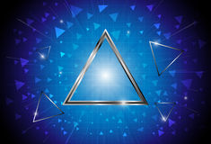 Triangle abstract background. EPS 10 Vector Stock Photo