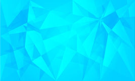 Triangle Abstract Background. Triangle Ice Abstract Vector Background Stock Photos