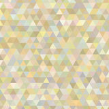 Triangle abstract background of yellow Royalty Free Stock Photos