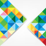 Triangle abstract Royalty Free Stock Images