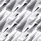 Triangle abstract geometry pattern. Stock Photos