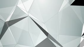 Triangle abstraction, geometrical effects 4K stock footage