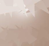 Triangle abstraite Photo stock