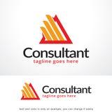 Triangle abstraite Logo Template Design Vector, emblème, concept de construction, symbole créatif, icône Photos stock