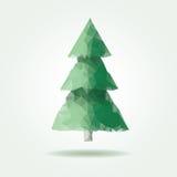 Triangle arrow pine Stock Image