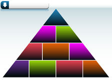 Triangle Background Stock Photo