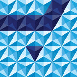 Triangle-background Stock Image