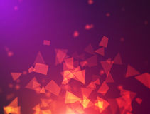 Triangle background design Royalty Free Stock Photo